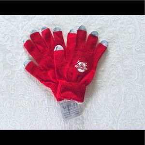 Accessories - ☃️🎊SALE $6 New Deck the Falls Red Smart Gloves
